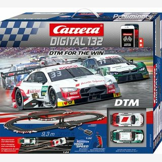 Carrera 30013 Digital132 DTM For the Win Grundpackung