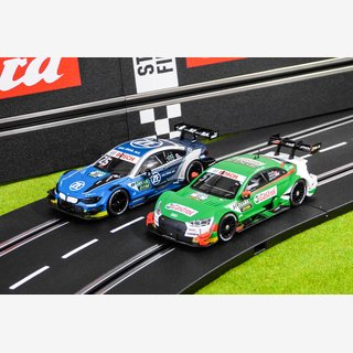 Carrera Evolution AUDI RS 5 DTM + BMW M4 DTM 27642+27643 NEU